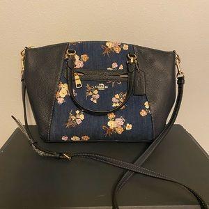 NEW Coach denim purse